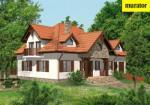 Проект одноэтажного дома с мансардой  - Муратор Ц208